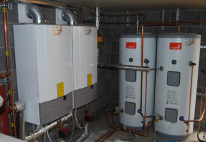 New build at Alderley Edge, installation of heating system, bathooms and plumbing
