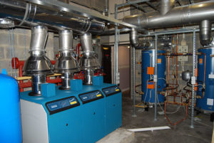 New boiler plant installation and heating systems to sheltered accommodation